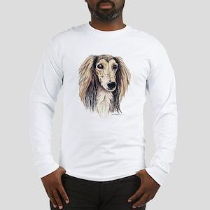 Saluki Portrait Long Sleeve T-Shirt