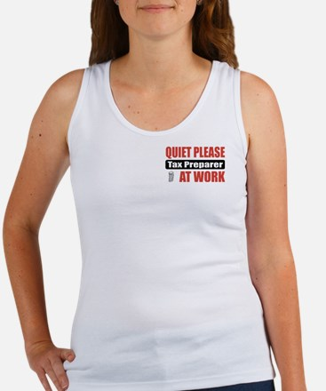 Tax Preparer Work Women's Tank Top