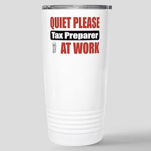 Tax Preparer Work Stainless Steel Travel Mug