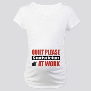Statistician Work Maternity T-Shirt
