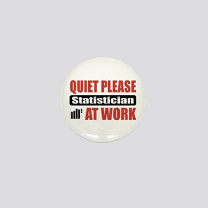 Statistician Work Mini Button