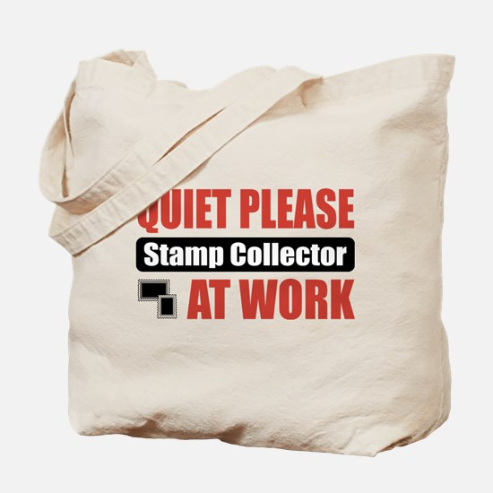 Stamp Collector Work Tote Bag