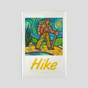 Hike Rectangle Magnet