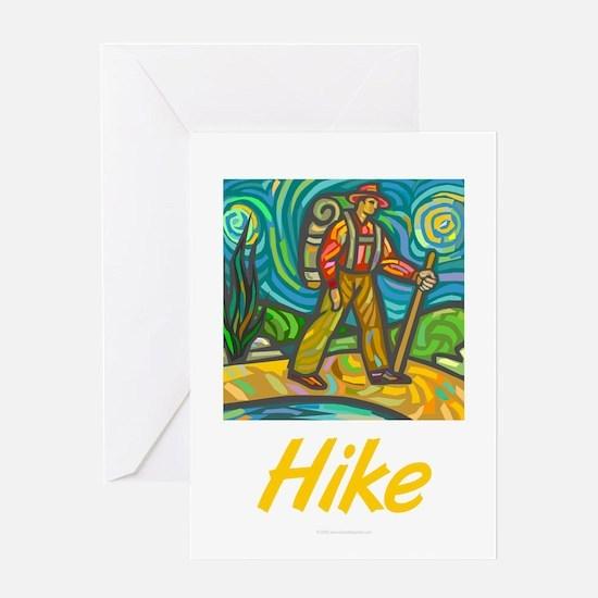 Hike Greeting Card