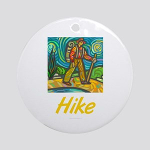 Hike Ornament (Round)