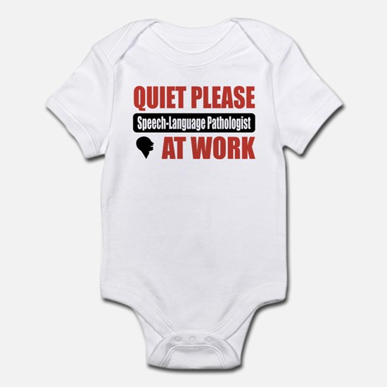 Speech-Language Pathologist Work Infant Bodysuit