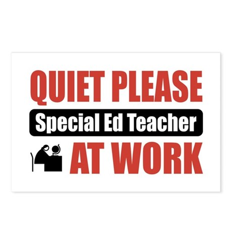 Special Ed Teacher Work Postcards (Package of 8)