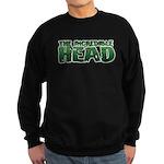 The incredible head Sweatshirt (dark)