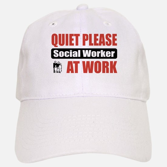 Social Worker Work Baseball Baseball Cap