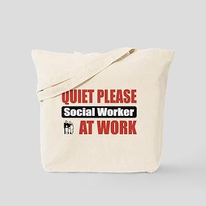 Social Worker Work Tote Bag