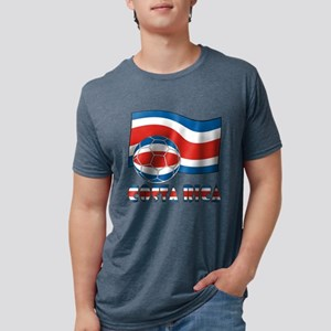 Costa Rica Soccer Ball and Civil Ens T-Shirt