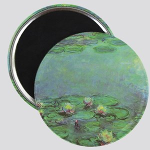 "Waterlilies by Claude Monet 2.25"" Magnet (10 pack)"