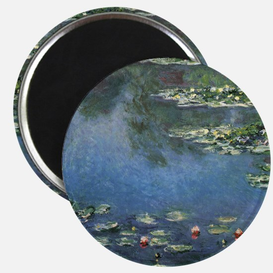 """Waterlilies by Claude Monet 2.25"""" Magnet (10 pack)"""