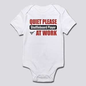 Shuffleboard Player Work Infant Bodysuit