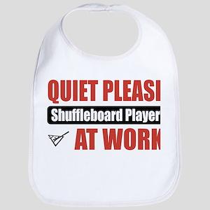 Shuffleboard Player Work Bib