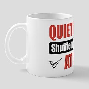 Shuffleboard Player Work Mug
