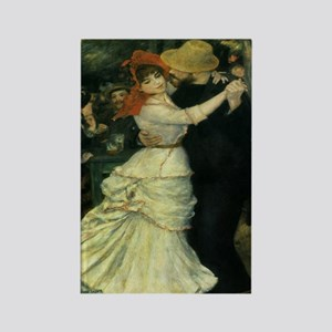 Dance at Bougival by Renoir Rectangle Magnet (10 p