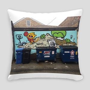 Chicago Graffiti Everyday Pillow
