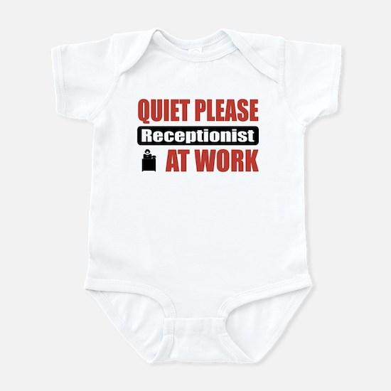 Receptionist Work Infant Bodysuit