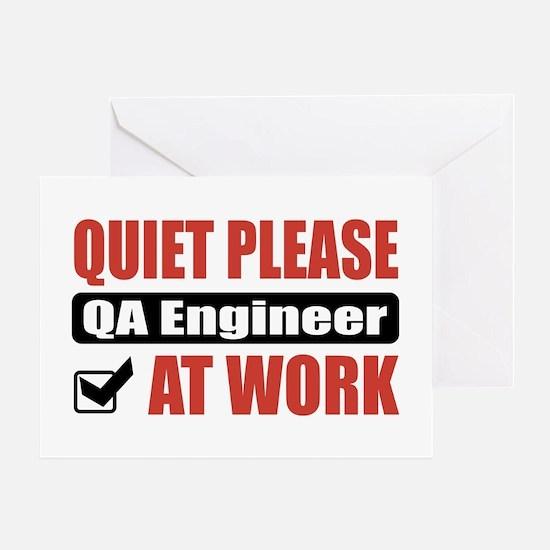QA Engineer Work Greeting Card
