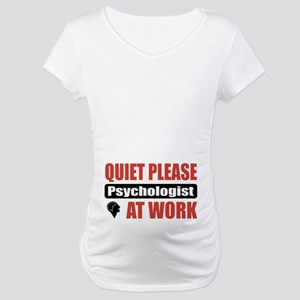Psychologist Work Maternity T-Shirt