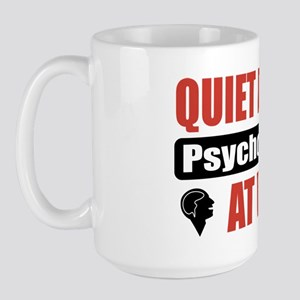 Psychologist Work Large Mug