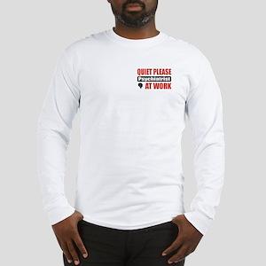Psychiatrist Work Long Sleeve T-Shirt