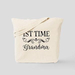 1st Time Grandma Gift Idea Tote Bag