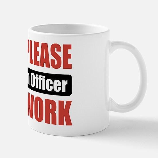 Probation Officer Work Mug