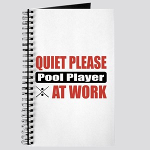 Pool Player Work Journal