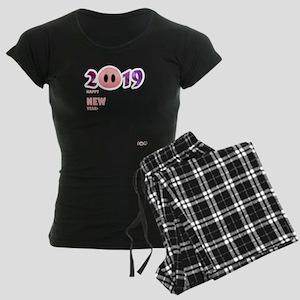 2019 Happy New Year Pig T Shirt Pajamas