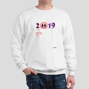 2019 Happy New Year Pig T Shirt Sweatshirt
