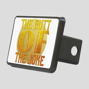 the butt of the joke Rectangular Hitch Cover