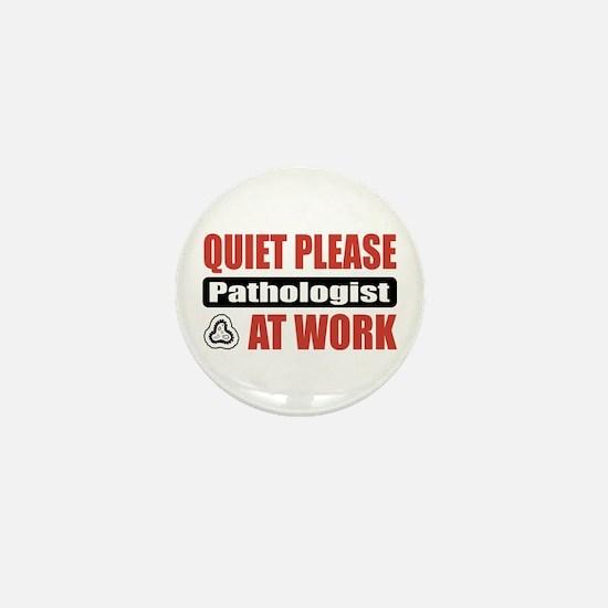 Pathologist Work Mini Button