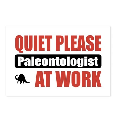 Paleontologist Work Postcards (Package of 8)