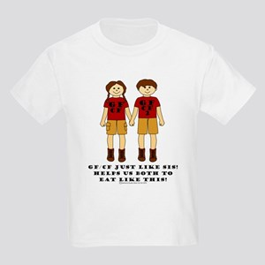 GFCFLikeSisBrownHairGBBM_edited-1 T-Shirt