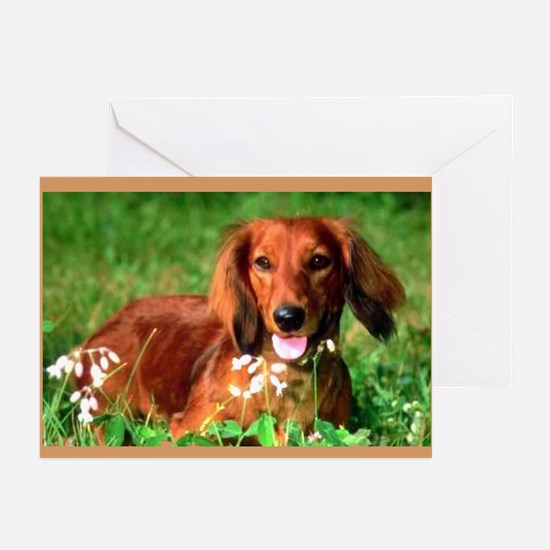 Red Long Greeting Cards (Pk of 20)