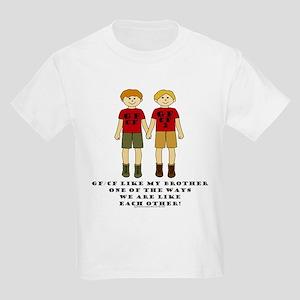 GFCFLikeBrotherFairHairBoysBM_edited-1 T-Shirt