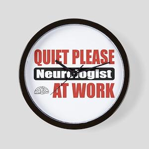 Neurologist Work Wall Clock