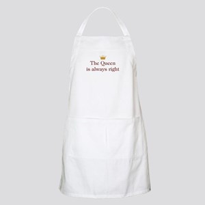 Queen Is Right BBQ Apron