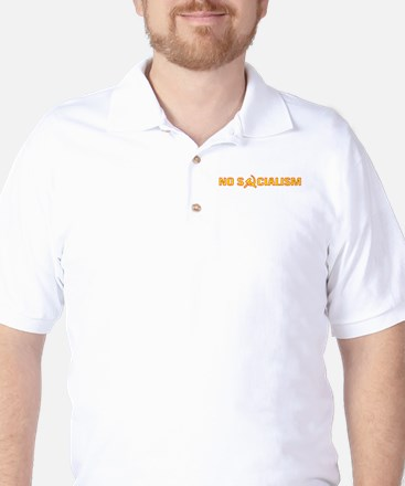 No Socialism Golf Shirt