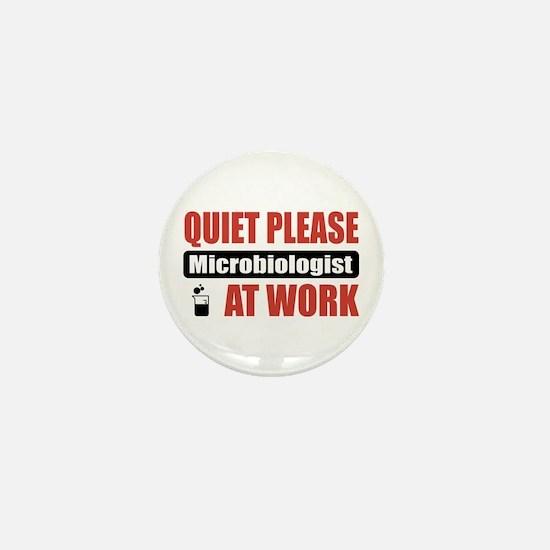Microbiologist Work Mini Button