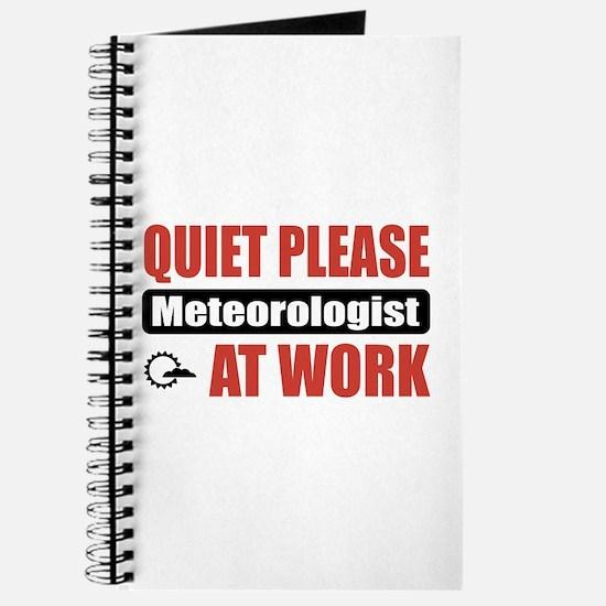 Meteorologist Work Journal