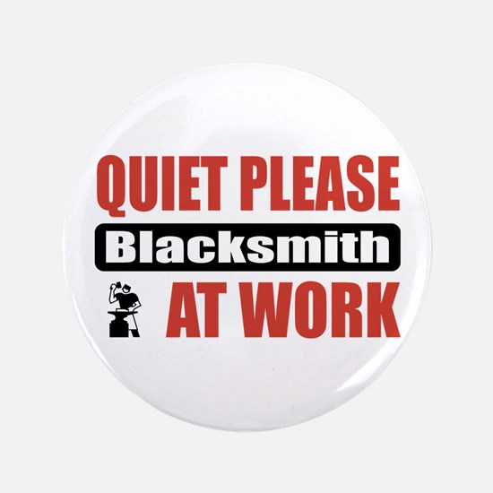 "Blacksmith Work 3.5"" Button (100 pack)"