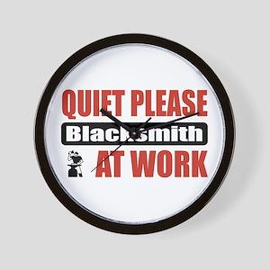 Blacksmith Work Wall Clock
