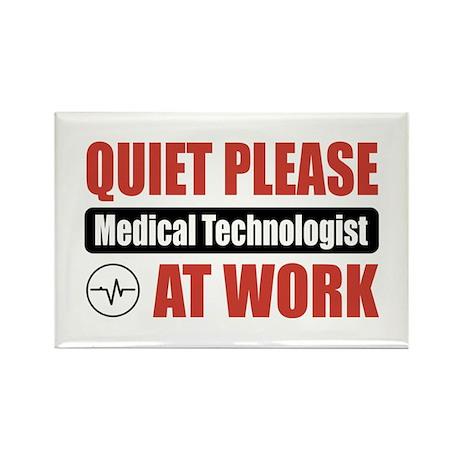 Medical Technologist Work Rectangle Magnet