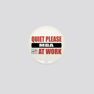 MBA Work Mini Button