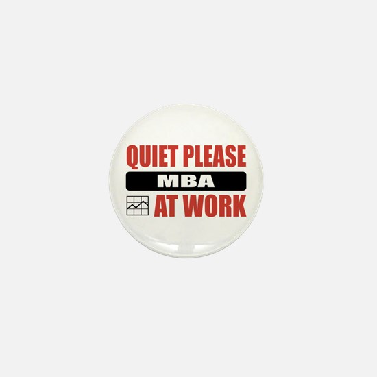 MBA Work Mini Button (100 pack)