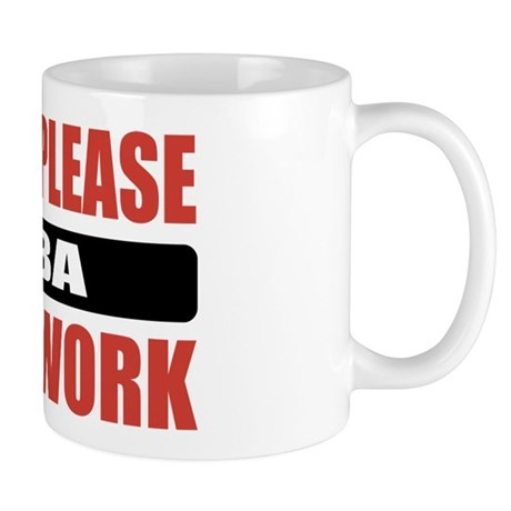 MBA Work Mug