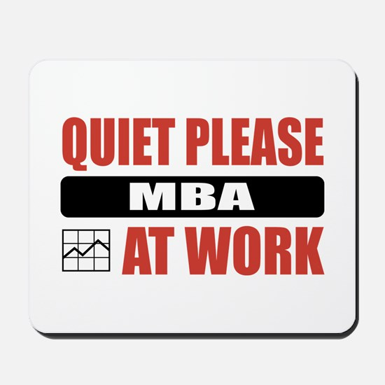MBA Work Mousepad